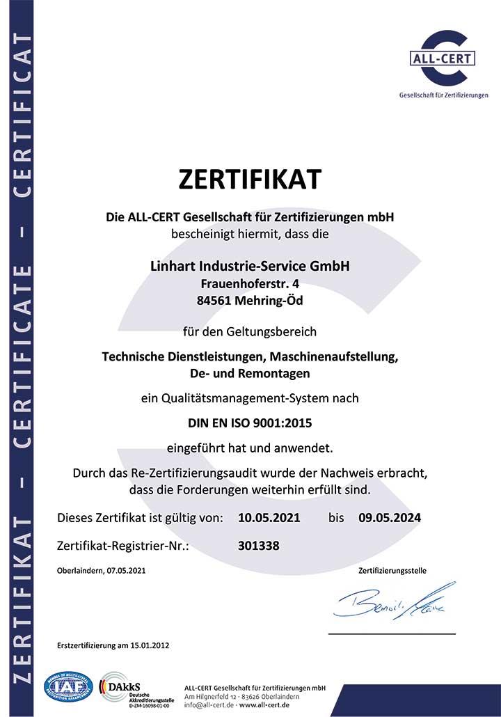 Zertifikat-DIN-EN-ISO-9001